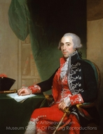 Josef de Jaudenes y Nebot painting reproduction, Gilbert Stuart
