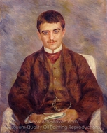 Joseph Durand-Ruel painting reproduction, Pierre-Auguste Renoir