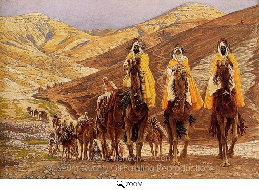 James Tissot, Journey of the Magi oil painting reproduction