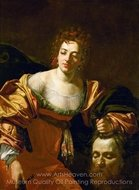 Judith and the Head of Holofernes painting reproduction, Simon Vouet