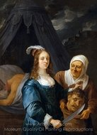Judith with the Head of Holofernes painting reproduction, David Teniers