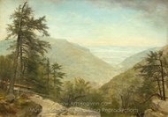 Kaaterskill Clove painting reproduction, Asher Brown Durand