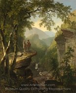 Kindred Spirits painting reproduction, Asher Brown Durand