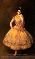 La Carmencita painting reproduction, John Singer Sargent