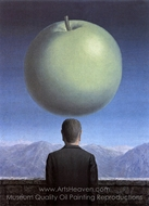 La Carte Postale painting reproduction, Rene Magritte (inspired by)