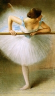 La Danseuse (The Ballerina) painting reproduction, Pierre Carrier-Belleuse
