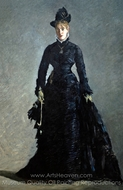La Parisienne painting reproduction, �douard Manet