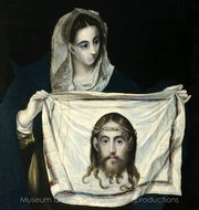 La Veronica painting reproduction, El Greco