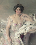 Lady Nanne Schrader painting reproduction, Giovanni Boldini