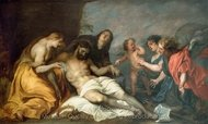 Lamentation over Dead Christ painting reproduction, Sir Anthony Van Dyck