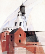 Lancaster painting reproduction, Charles Demuth