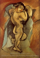 Large Nude painting reproduction, Georges Braque