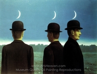 Le Chef D'Oeuvre ou Les Mysteres de L'Horizon painting reproduction, Rene Magritte (inspired by)