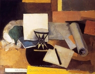 Le Diabolo painting reproduction, Roger De La Fresnaye