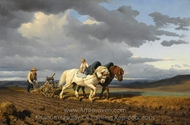 Le Laborage painting reproduction, Rosa Bonheur