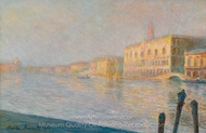 Le Palais Ducal painting reproduction, Claude Monet