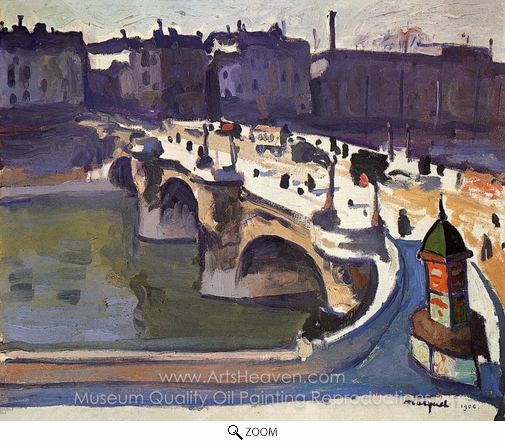 Albert Marquet, Le Pont-Neuf oil painting reproduction