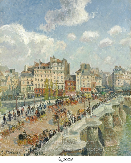 Camille Pissarro, Le Pont-Neuf oil painting reproduction