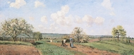 Le Printemps painting reproduction, Camille Pissarro