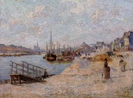 Le Quai de Bercy painting reproduction, Armand Guillaumin