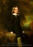Leopold, Duke of Brabant painting reproduction, Franz Xavier Winterhalter