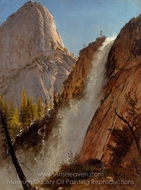 Liberty Cam, Yosemite painting reproduction, Albert Bierstadt