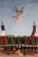 Liberty Inviting Artists painting reproduction, Henri Rousseau