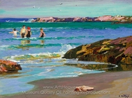 Low Tide painting reproduction, Edward Henry Potthast