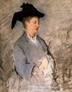 Madame Edouard Manet painting reproduction, Edouard Manet