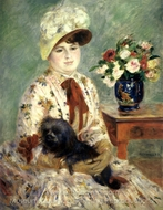 Madame Hagen painting reproduction, Pierre-Auguste Renoir
