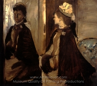 Madame Jeantaud at the Mirror painting reproduction, Edgar Degas