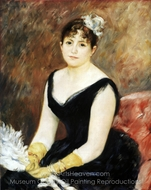 Madame Leon Clapisson painting reproduction, Pierre-Auguste Renoir