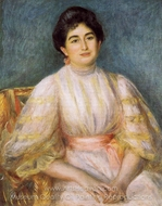 Madame Paul Gallimard (Lucie Duche) painting reproduction, Pierre-Auguste Renoir