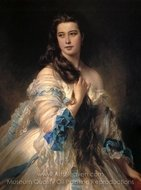Madame Rimsky Korsakov painting reproduction, Franz Xavier Winterhalter