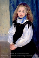 Mademoiselle Legrand painting reproduction, Pierre-Auguste Renoir