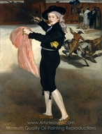 Mademoiselle Victorine Meurent in the Costume of an Espada painting reproduction, Édouard Manet