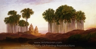 Mahabalipooram painting reproduction, Edward Lear