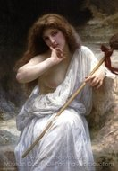 Mailice painting reproduction, William A. Bouguereau