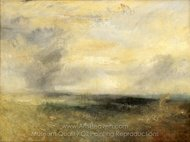 Margate, From the Sea painting reproduction, Joseph M. W. Turner