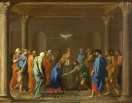 Marriage painting reproduction, Nicolas Poussin