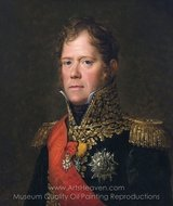 Marshall Michel Ney painting reproduction, Francois Gerard