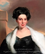 Mary Anne Heide Norris painting reproduction, Thomas Sully