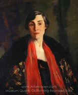 Mary Fanton Roberts painting reproduction, Robert Henri