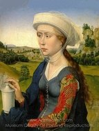 Mary Magdalene painting reproduction, Rogier Van Der Weyden
