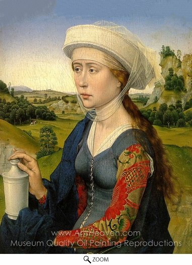 Rogier Van Der Weyden, Mary Magdalene oil painting reproduction