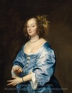 Mary Ruthven painting reproduction, Sir Anthony Van Dyck