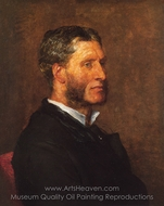 Matthew Arnold painting reproduction, George Frederic Watts