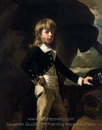 Midshipman Augustus Brine painting reproduction, John Singleton Copley