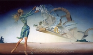 Mirage painting reproduction, Salvador Dali (inspired by)