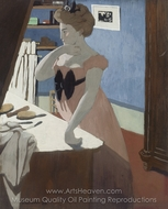 Misia a sa Coiffure painting reproduction, Felix Vallotton